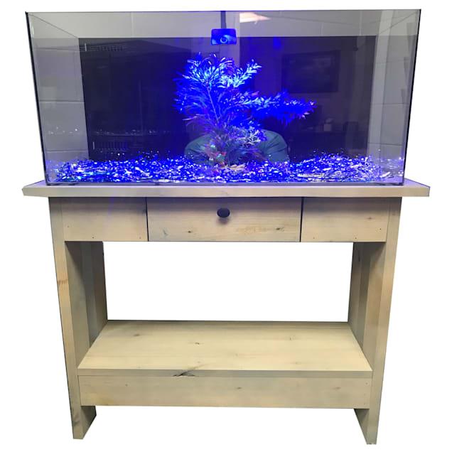 "R&J Enterprises Rustic X 30"" Tall Aquarium Cabinet, 48""x13"" - Carousel image #1"