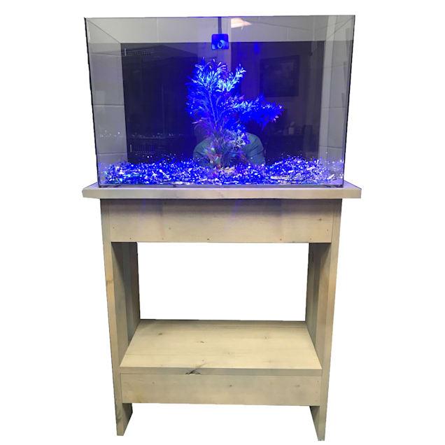 "R&J Enterprises Rustic A 30"" Tall Aquarium Cabinet, 20""x10"" - Carousel image #1"