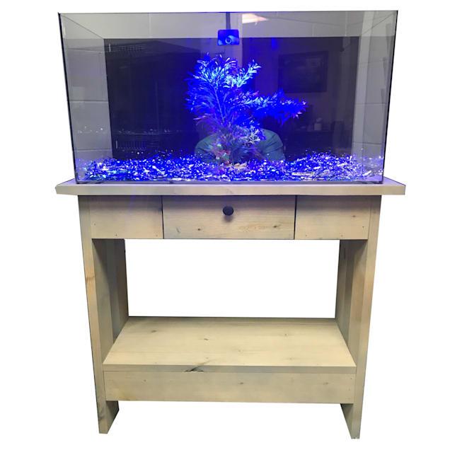 "R&J Enterprises Rustic X 30"" Tall Aquarium Cabinet, 36""x12"" - Carousel image #1"