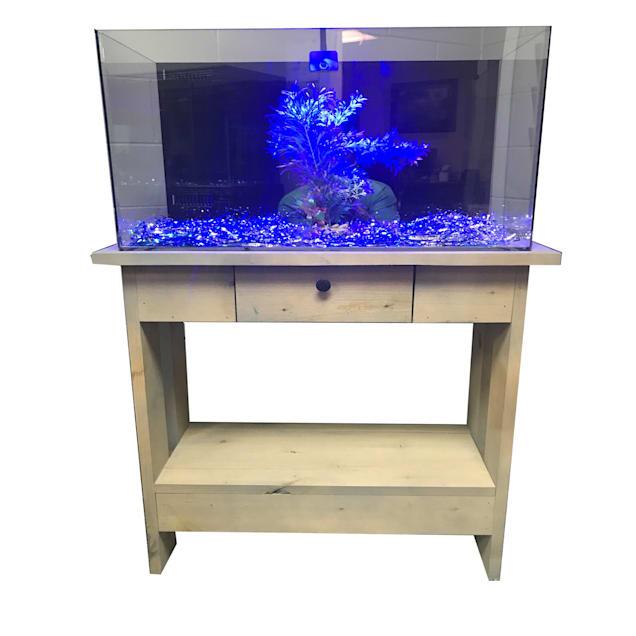 "R&J Enterprises Rustic X 30"" Tall Aquarium Cabinet, 30""x12"" - Carousel image #1"