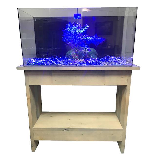 "R&J Enterprises Rustic A 30"" Tall Aquarium Cabinet, 36""x12"" - Carousel image #1"