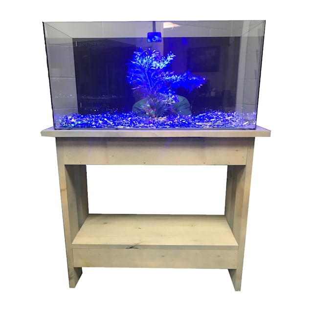 "R&J Enterprises Rustic A 30"" Tall Aquarium Cabinet, 30""x12"" - Carousel image #1"