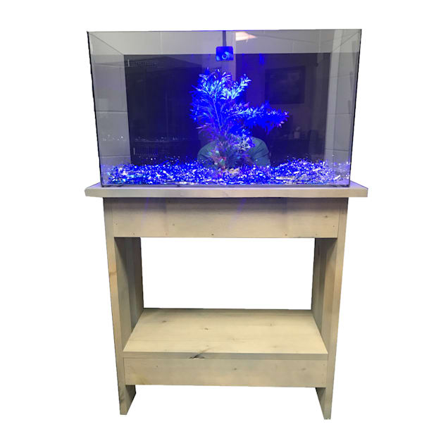 "R&J Enterprises Rustic A 30"" Tall Aquarium Cabinet, 24""x12"" - Carousel image #1"