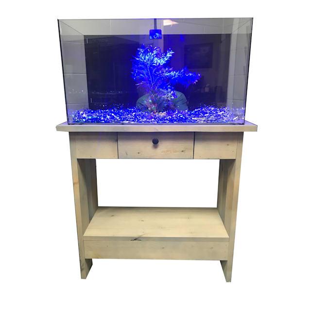 "R&J Enterprises Rustic X 30"" Tall Aquarium Cabinet, 24""x12"" - Carousel image #1"