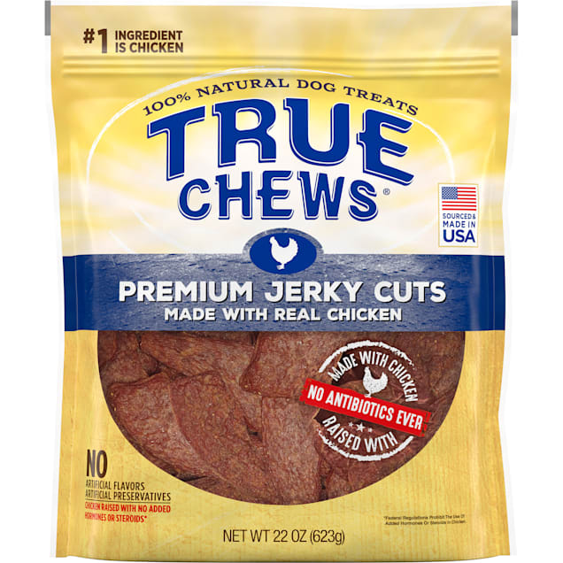 True Chews Premium Jerky Cuts Made with Real Chicken Natural Dog Treats, 22 oz. - Carousel image #1