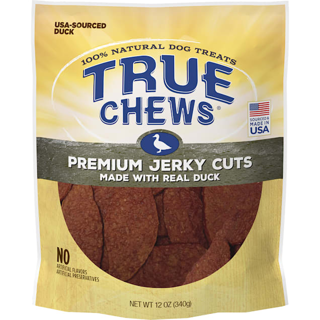 True Chews Premium Jerky Cuts Made with Real Duck Natural Dog Treats, 12 oz. - Carousel image #1