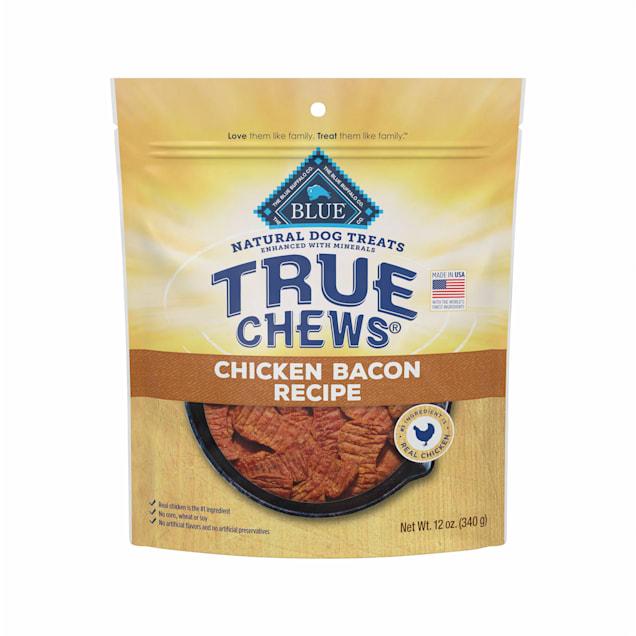True Chews Premium Chicken Bacon Recipe Natural Dog Treats, 12 oz. - Carousel image #1