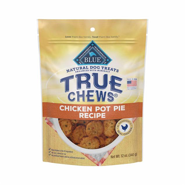 True Chews Chicken Pot Pie Recipe Natural Dog Treats, 12 oz. - Carousel image #1