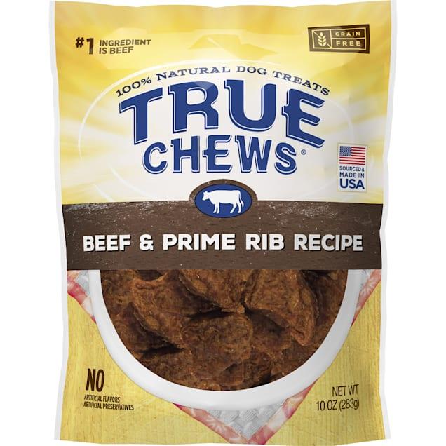 True Chews Beef & Prime Rib Recipe Dog Treats, 10 oz. - Carousel image #1