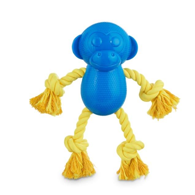 Leaps & Bounds Chomp and Chew Rope Limbs Monkey Dog Toy, Medium - Carousel image #1