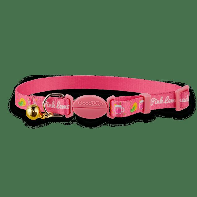 Good2Go Pink Lemonade Breakaway Cat Collar - Carousel image #1