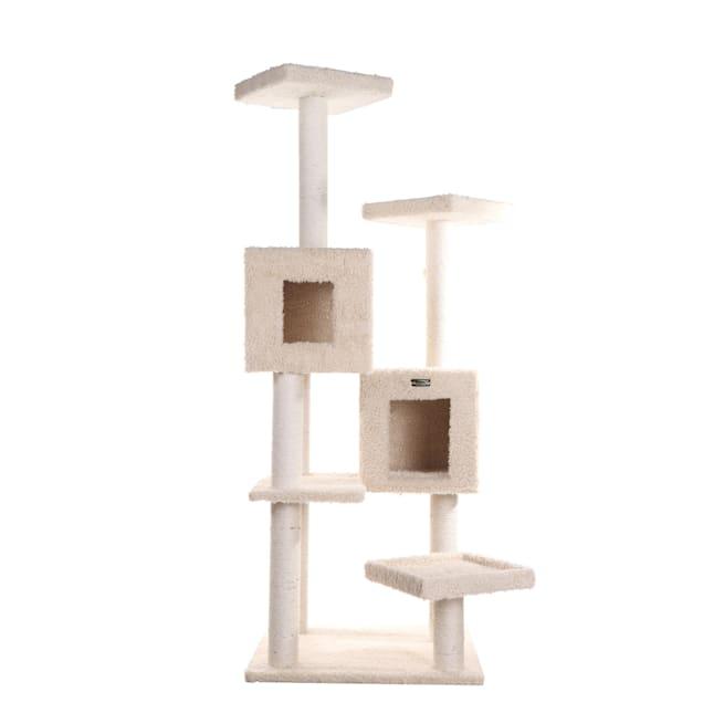 "Armarkat Classic Cat Tree Model A6702 Beige, 67"" H - Carousel image #1"