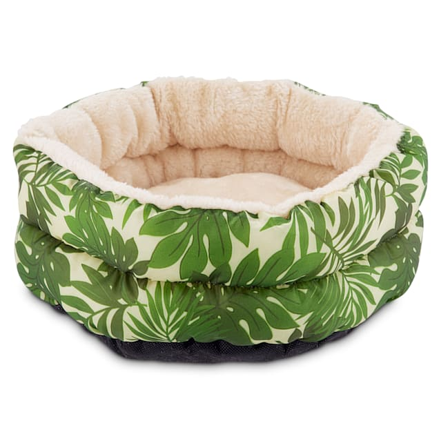 You & Me Tropical Oasis Small Animal Donut Bed - Carousel image #1
