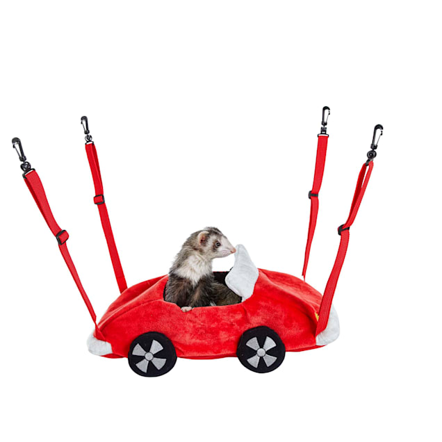 You & Me Racecar Small Animal Hanging Bed - Carousel image #1