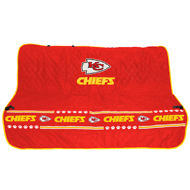 Pets First Kansas City Chiefs Car Seat Cover - Carousel image #1