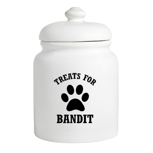 Custom Personalization Solutions Personalized Treats For Puppy Treat Jar - Carousel image #1