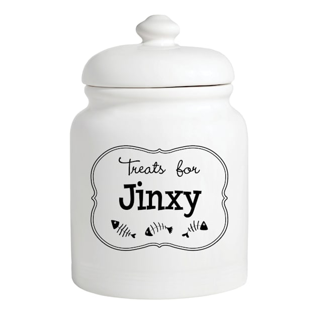 Custom Personalization Solutions Personalized Treats For Kitty Treat Jar - Carousel image #1