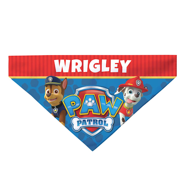 Custom Personalization Solutions Paw Patrol To The Rescue Pet Bandana Collar Cover - Carousel image #1