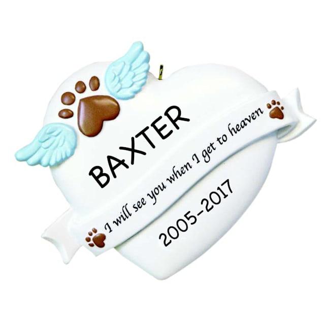 Custom Personalization Solutions Personalized Pet Memorial Ornament - Carousel image #1