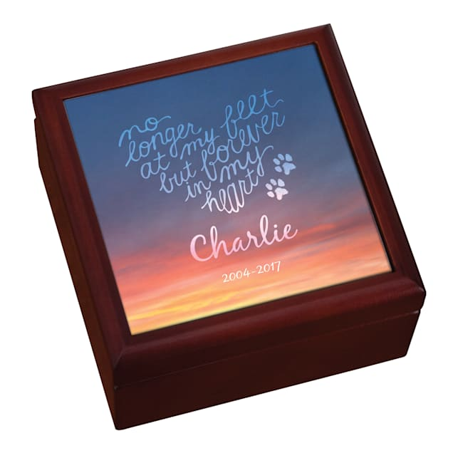 Custom Personalization Solutions Personalized Forever In My Heart Pet Keepsake Box - Carousel image #1