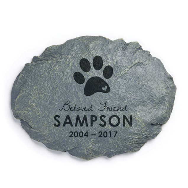 Custom Personalization Solutions Beloved Friend Personalized Dog Memorial Garden Stone - Carousel image #1