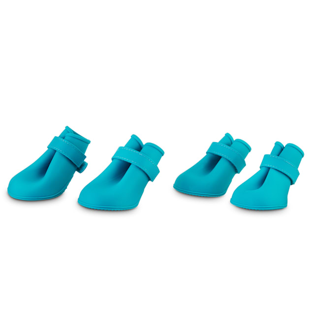 Good2Go Blue Silicone Dog Boots, X-Small - Carousel image #1