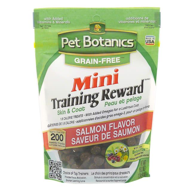 Pet Botanics Grain Free Mini Training Reward Salmon Flavor Dog Treats, 4 oz. bag, 200 count - Carousel image #1