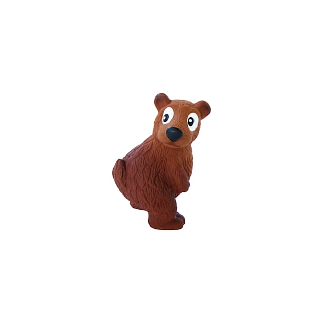 Outward Hound Tootiez Bear Soft Touch Grunting Dog Toy, Small - Carousel image #1