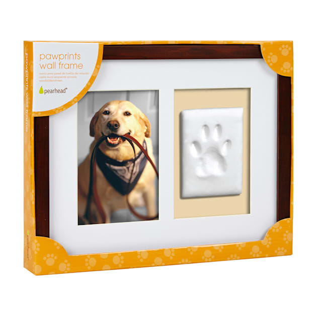 Pearhead Pawprints Wall Picture Frame and Impression Kit For Dogs or Cats - Carousel image #1