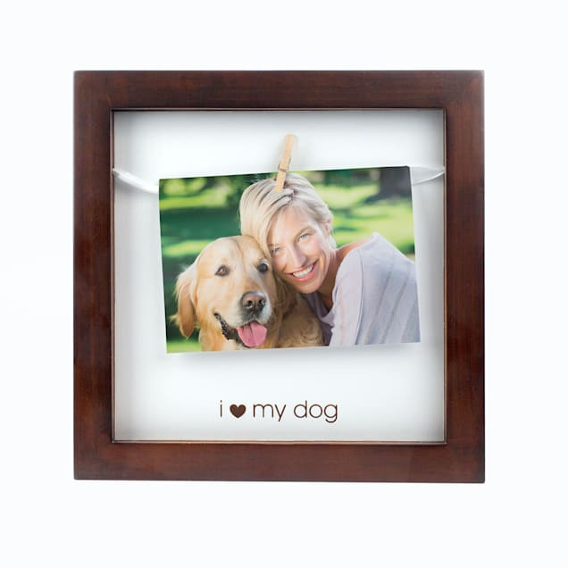 "Pearhead ""I Love My Dog"" Pet Clothespin Frame For Dogs - Carousel image #1"