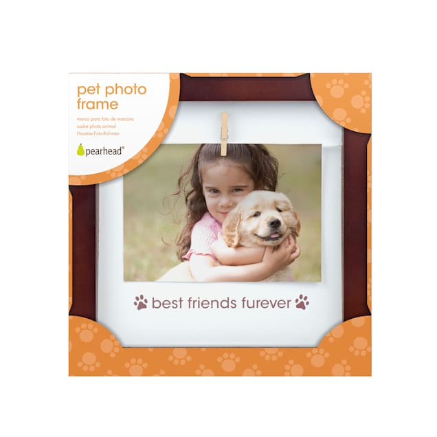 """Pearhead """"Best Friends Furever"""" Pet Clothespin Frame For Dogs or Cats - Carousel image #1"""