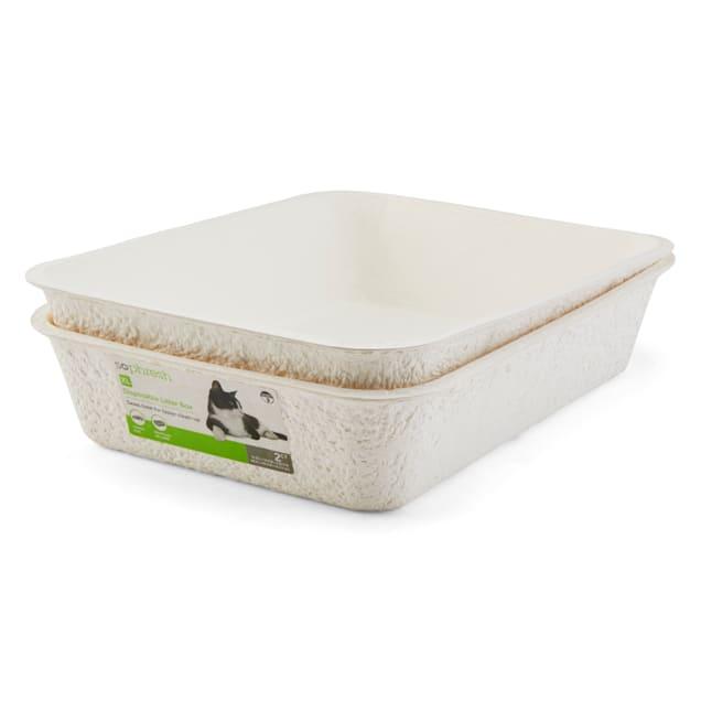 "So Phresh Disposable Cat Litter Box Set, 19.25"" L X 14.5"" W X 4.25"" H - Carousel image #1"