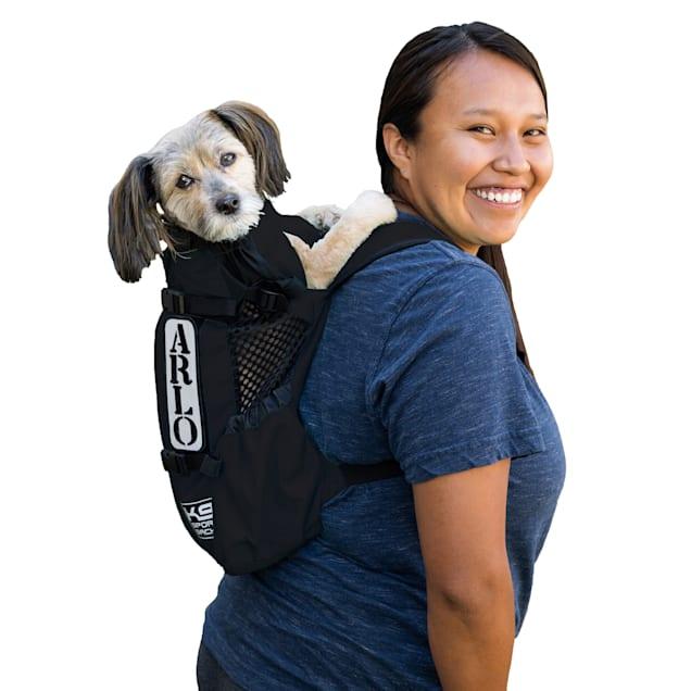 "K9 Sport Sack Air Forward Facing Backpack Black Dog Carrier, 10"" L X 8"" W X 17"" H - Carousel image #1"