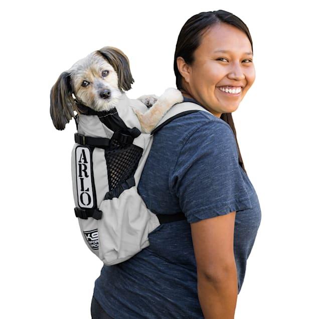 "K9 Sport Sack Air Forward Facing Backpack Light Grey Dog Carrier, 10"" L X 8"" W X 17"" H - Carousel image #1"