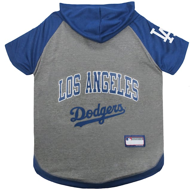 Pets First Los Angeles Dodgers Dog Hoodie Tee, X-Small - Carousel image #1