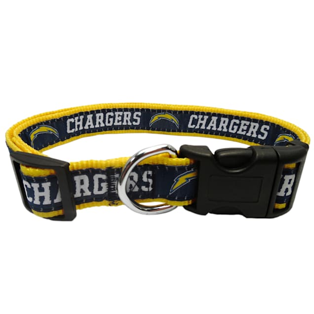 Pest First Los Angeles Chargers Collar, Small - Carousel image #1