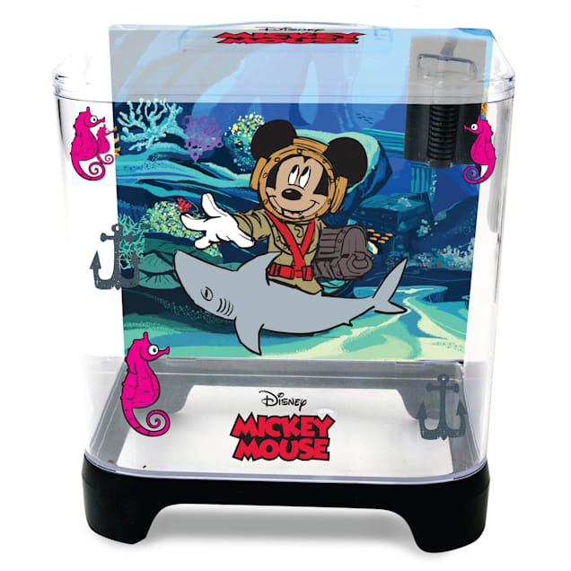 Penn Plax Classic Disney Kit with filter, 1.5 gal. - Carousel image #1