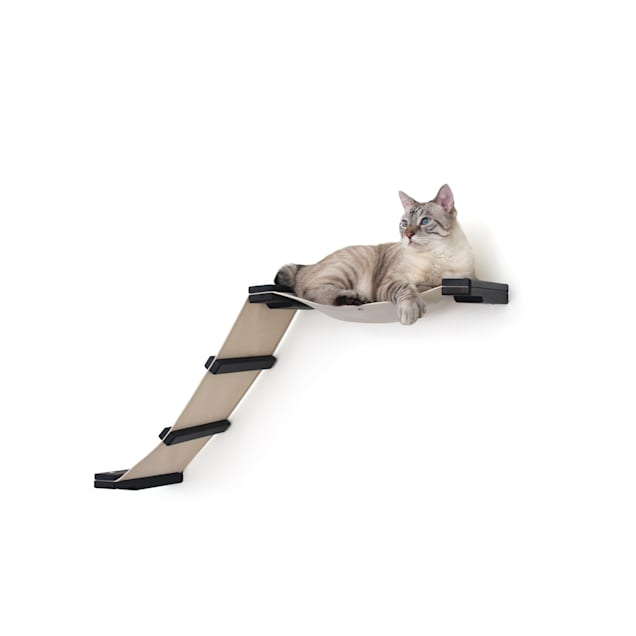 CatastrophiCreations The Cat Mod Lift Hammocks for Cats in Onyx, 34 IN W X 20 IN H - Carousel image #1