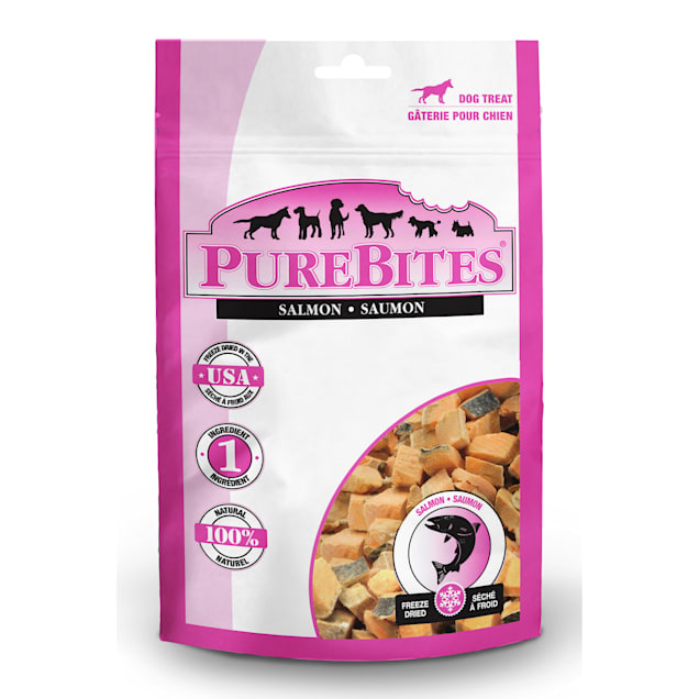 PureBites Salmon Dog Treats, 2.47 oz. - Carousel image #1