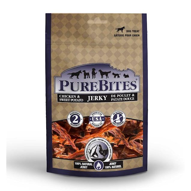 PureBites Chicken & Sweet Potato Jerky Dog Treats, 6.3 oz. - Carousel image #1
