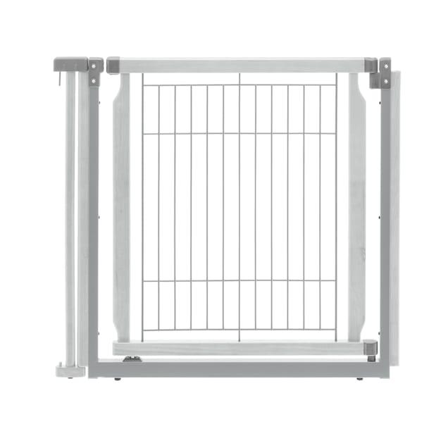 "Richell Convertible Elite White Pet Door Panel, 33.9"" L x 31.5"" H x 1.4"" W - Carousel image #1"
