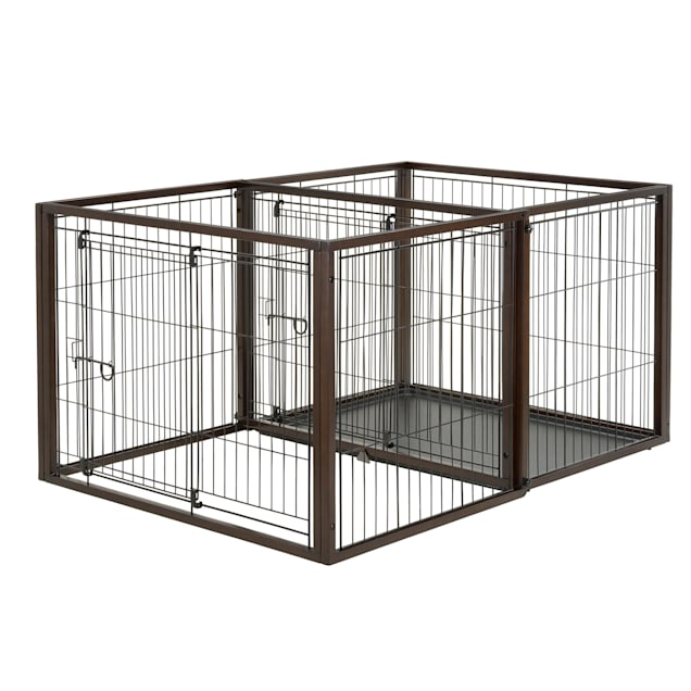 """Richell Flip To Play Pet Crate, 56.9"""" x 31.1"""" x 41.7"""" - Carousel image #1"""