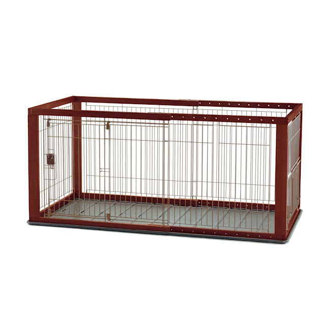 "Richell Expandable Pet Crate, 62.2"" x 28"" x 32.1"" - Carousel image #1"