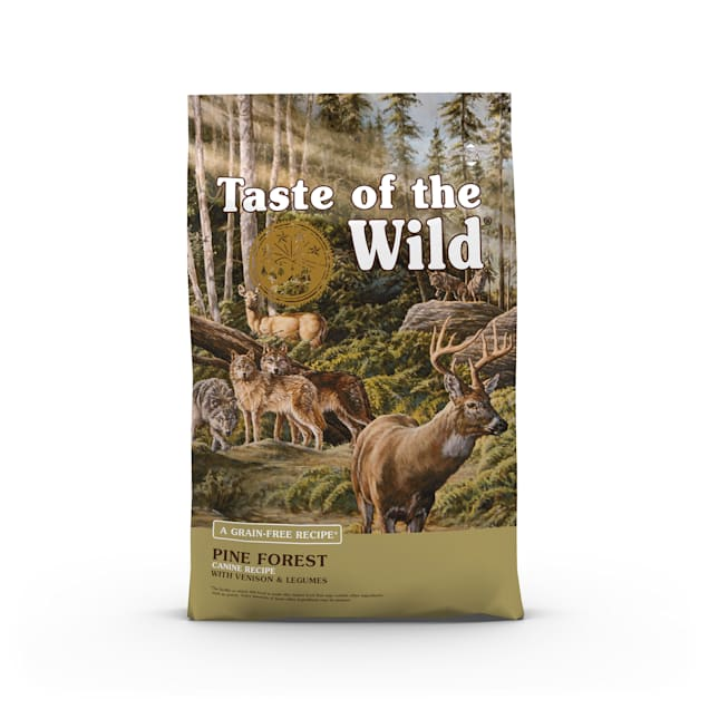 Taste of the Wild Pine Forest Grain-Free Roasted Venison Dry Dog Food, 28 lbs. - Carousel image #1