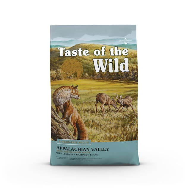 Taste of the Wild Appalachian Valley Small Breed Grain-Free Roasted Venison Dry Dog Food, 28 lbs. - Carousel image #1
