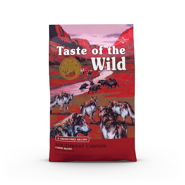Taste of the Wild Southwest Canyon Grain-Free Wild Boar Dry Dog Food, 28 lbs. - Carousel image #1