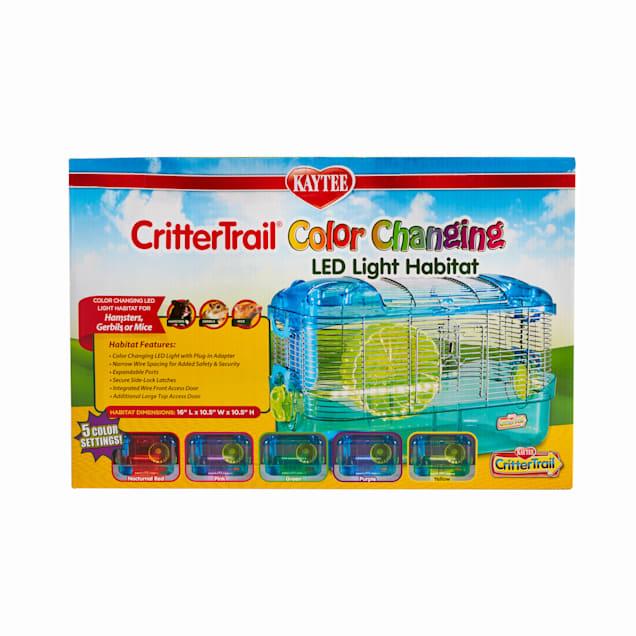 Kaytee CritterTrail LED Color Changing Habitat - Carousel image #1