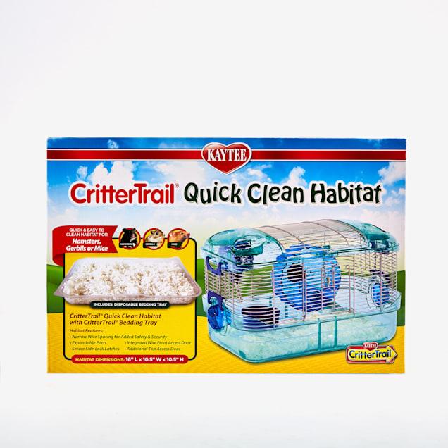 Kaytee Crittertrail Quick Clean Habitat - Carousel image #1