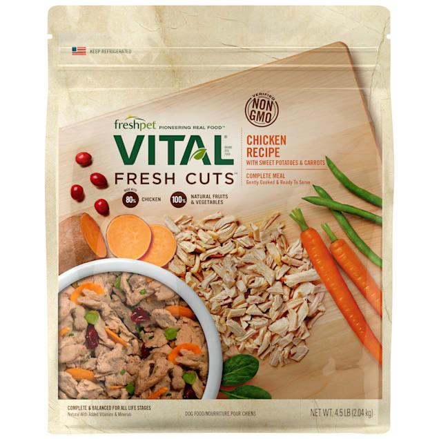 Freshpet Vital Fresh Cuts Shredded Chicken Dog Food, 4.5 lbs. - Carousel image #1