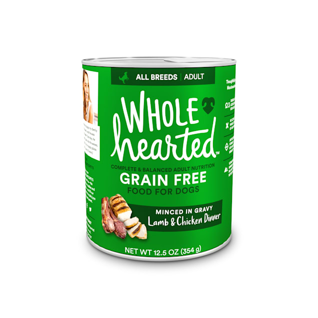 WholeHearted Grain-Free Adult Lamb and Chicken Dinner Wet Dog Food, 12.5 oz., Case of 8 - Carousel image #1